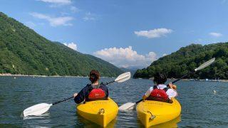 2019年銀山湖カヌー体験