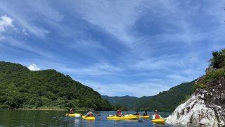 2020年銀山湖カヌー体験